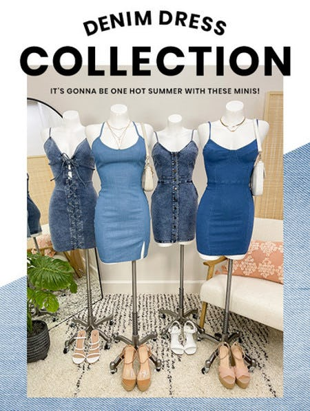 Just In: The Denim Dress Collection from Windsor