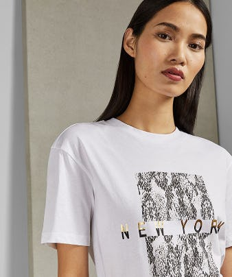 The Sleek TYNIAA T-Shirt from Ted Baker London