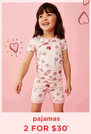 Pajamas 2 for $30 from Cotton On Kids