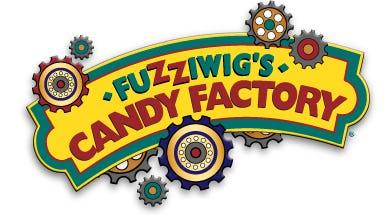 Fuzziwig's Candy Factory Logo