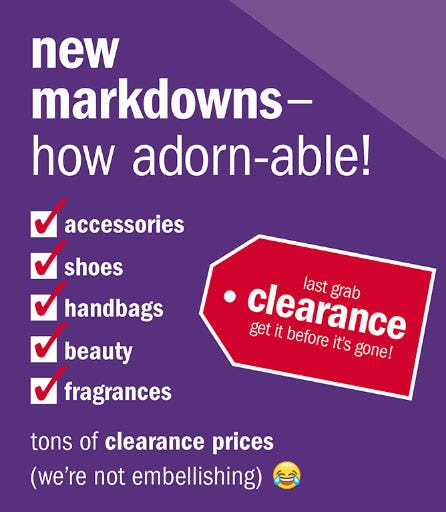 New Markdowns on Jewelry, Handbags & More from Gordmans
