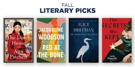 Fall Literary Picks from Books-A-Million