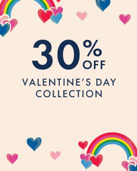 30% Off Valentine's Day Collection from Hanna Andersson