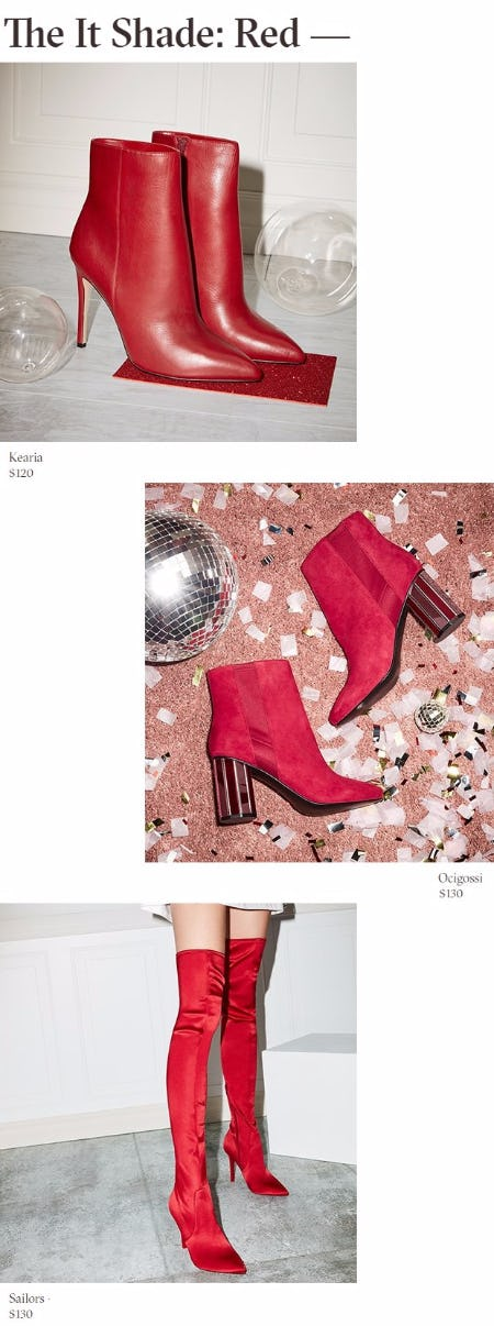 Red-Hot Styles to Shop Now