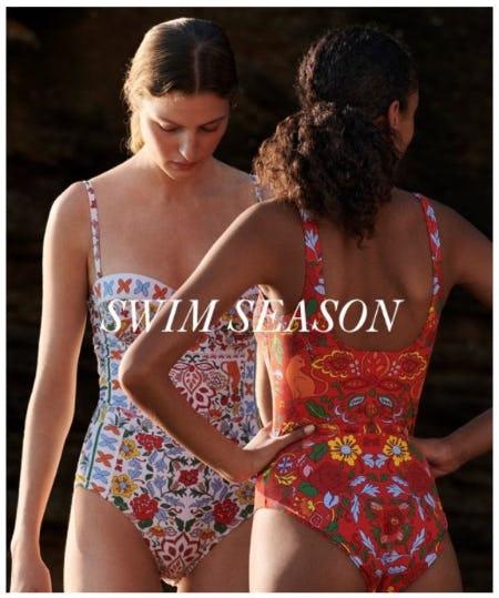 New for Swim Season from Tory Burch