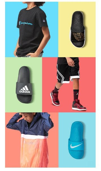 Lighten up for Spring in Fresh Apparel from Kids Foot Locker