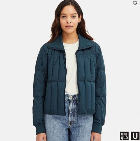 Women U Ultra Light Down Jacket from Uniqlo