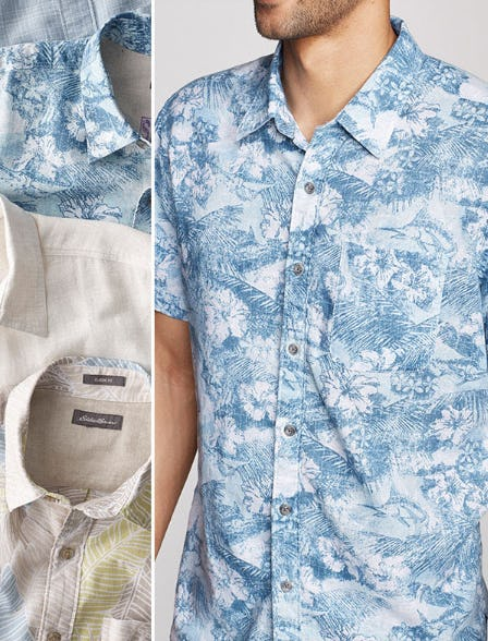The Larrabee Print Shirt from Eddie Bauer