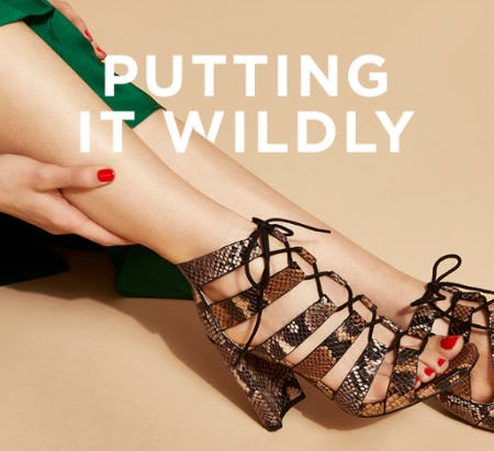 Putting It Wildly: Animal-Print Shoes from Vince Camuto