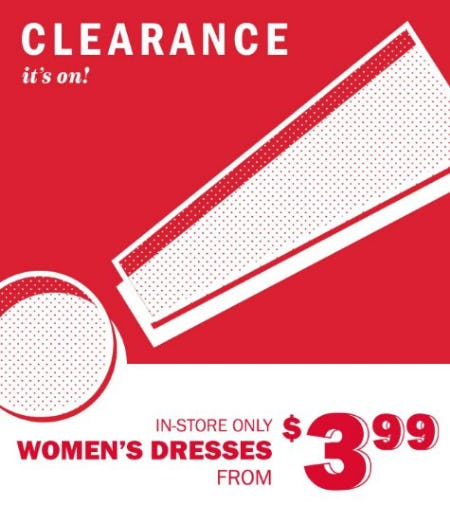Women's Dresses from $3.99 from Old Navy