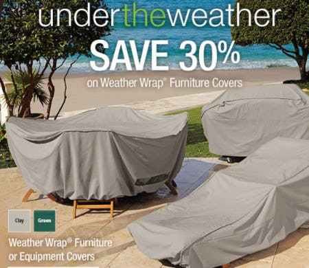 Save 30% On Weather Wrap Furniture Covers Part 48