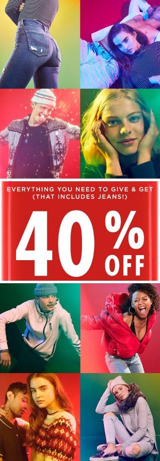 40% Off Everything You Need to Give & Get