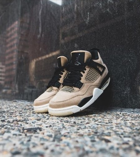 "New Arrivals: Air Jordan 4 ""Mushroom"" from DTLR"