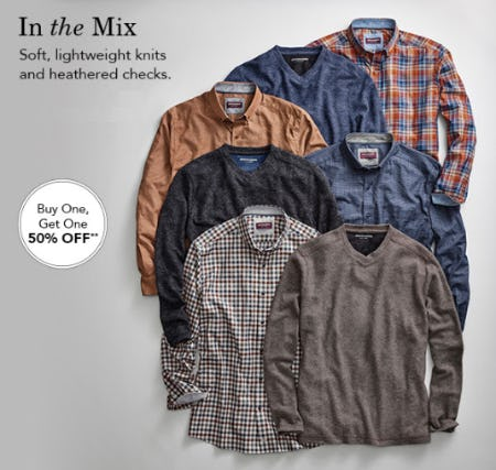 BOGO 50% Off In The Mix from JOHNSTON & MURPHY