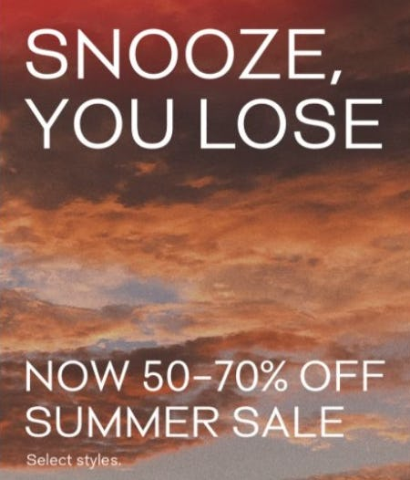 Summer Sale now 50–70% Off from Aritzia