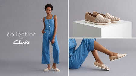 20% OFF SELECT SPRING STYLES! from Clarks