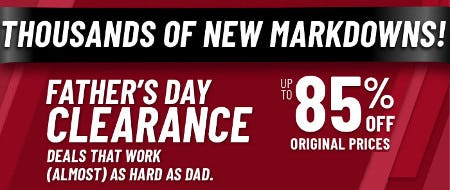 Father's Day Clearance: Up to 85% Off Original Prices from Jos. A. Bank