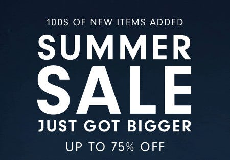Summer Sale: Up to 75% Off from Williams-Sonoma