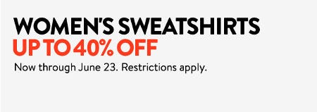 Women's Sweatshirts up to 40% Off from Nordstrom
