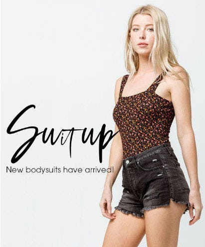 New Bodysuits Have Arrived from Tillys