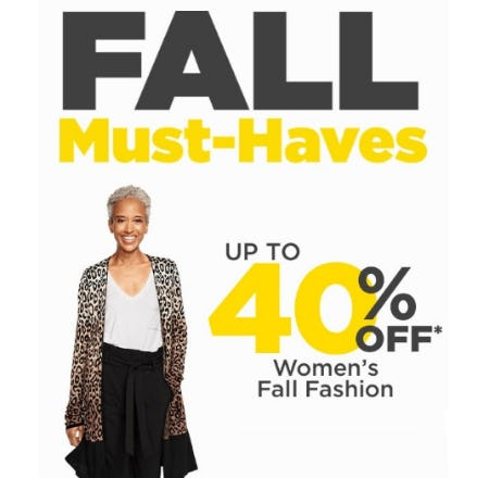 Up to 40% Off Women's Fall Fashion from Lord & Taylor