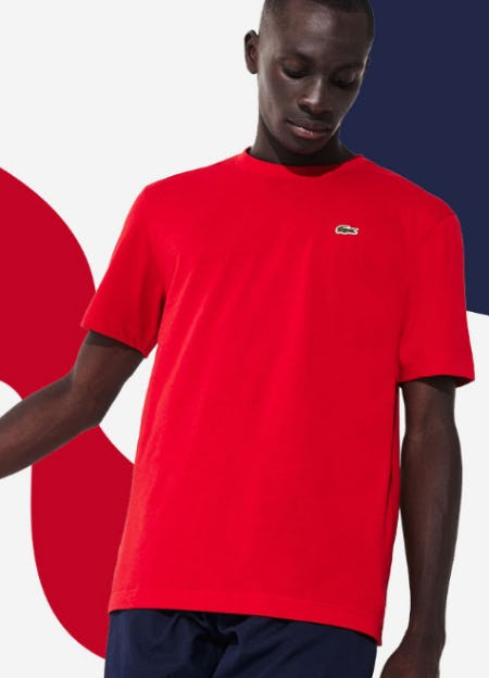 New T-Shirts for the New Season from Lacoste