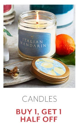 Candles Buy 1, Get 1 Half Off from Sur La Table