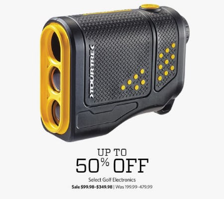 Up to 50% Off Select Golf Electronics from Golf Galaxy