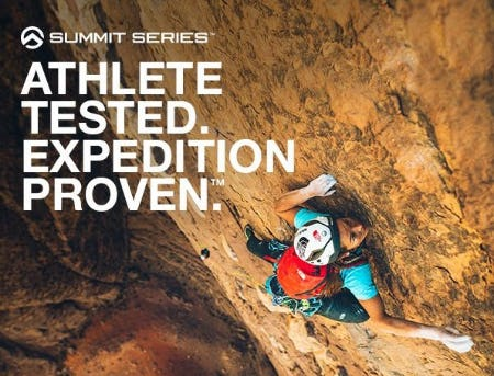 Summit Series™ Gear: Athlete tested, Expedition Proven from The North Face