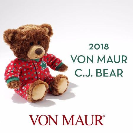 Von Maur 2018 C.J. Bear from Von Maur