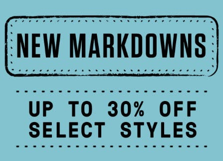 Up to 30% Off New Markdowns from Merrell