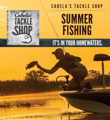 Get Ready For Summer Fishing