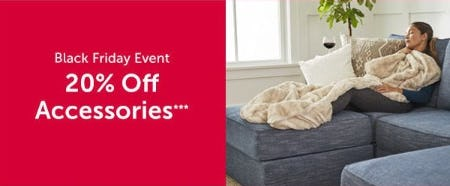 20% Off Accessories from Lovesac Alternative Furniture