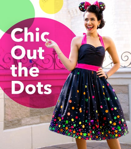 Chic Out the Dots from Disney Store