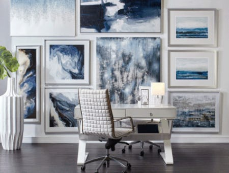 Gallery Wall Styles from Z Gallerie