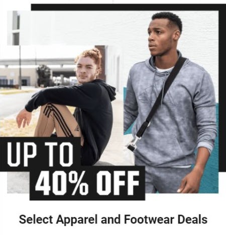 Up to 40% Off Select Apparel and Footwear Deals from Dick's Sporting Goods