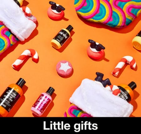 The Perfect Little Extras from LUSH
