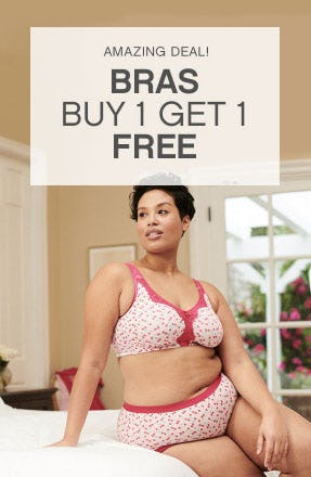 BOGO Free Bras from Catherines Plus Sizes