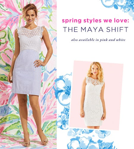 The Maya Shift Dress from Lilly Pulitzer