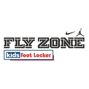 Fly Zone at Kids Foot Locker             Logo
