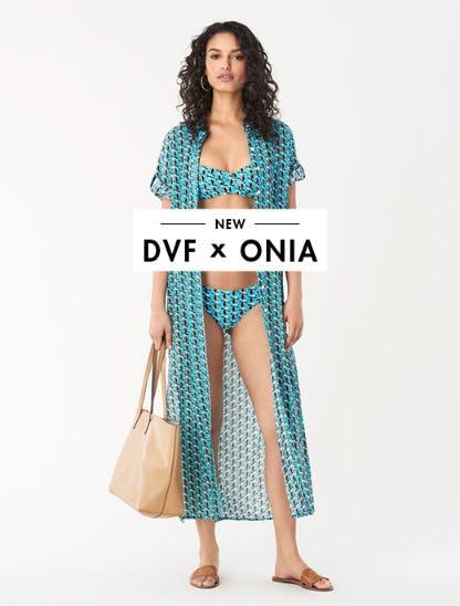 New DVF x Onia from Diane von Furstenberg