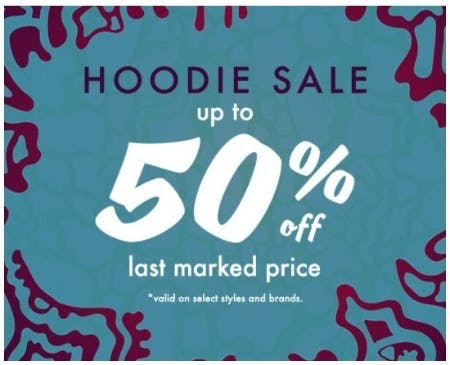 Hoodie Sale up to 50% Off