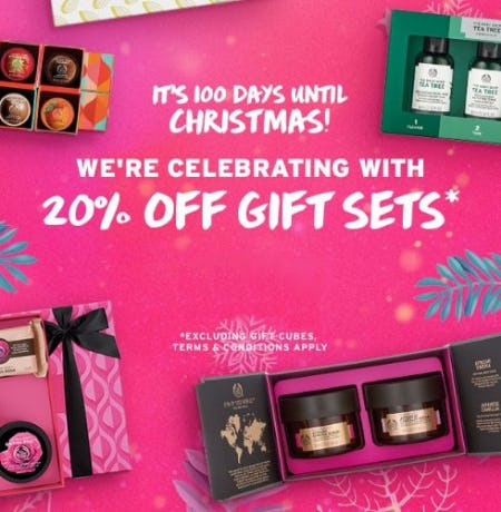 20% Off Gift Sets from The Body Shop
