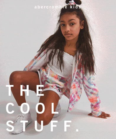 New Cool Stuff Dropped from Abercrombie Kids