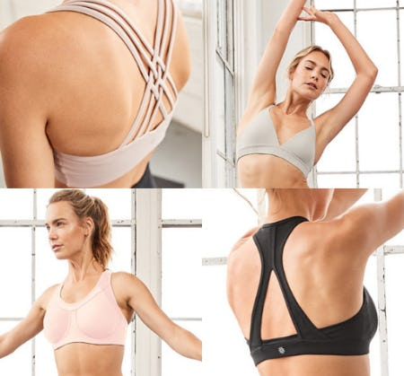The Sports Bras from Athleta