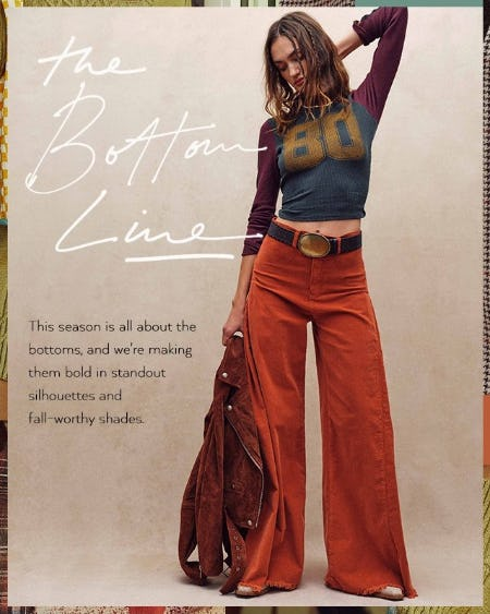 Current Obsession: Bold Bottoms from Free People