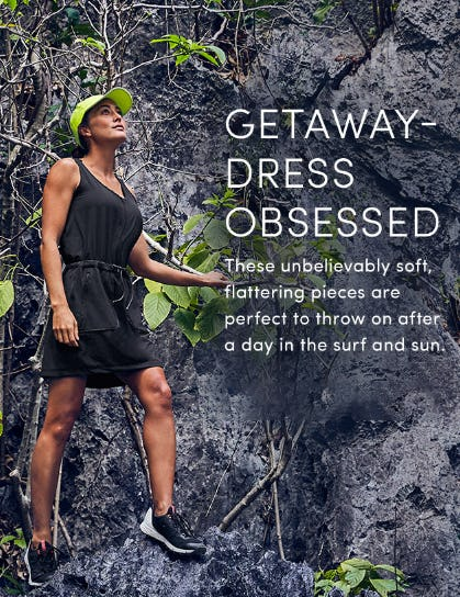 Getaway Dress Obsessed from Athleta