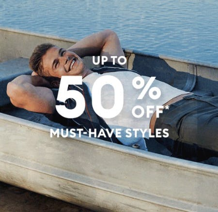 Up to 50% Off Must-Have Styles from Banana Republic