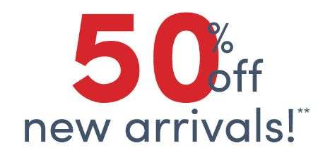 50% Off on New Arrivals from J.Crew Mercantile