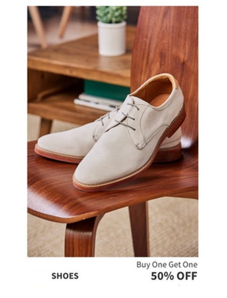 Shoes Buy One, Get One 50% Off from Jos. A. Bank